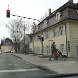 street view in Freising, Bayern, Germany