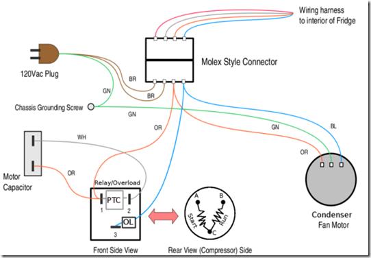 Wiring Diagram Kompresor Kulkas : Programkudulu spot