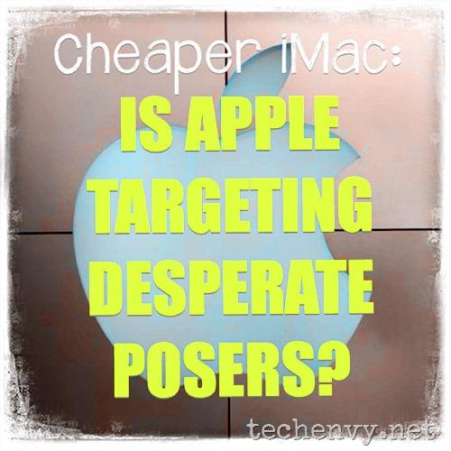 cheaper Apple iMac