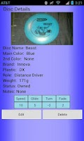Screenshot of Disc Golf Cataloger
