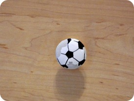 soccer ball knobs