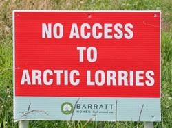 Arctic lorries