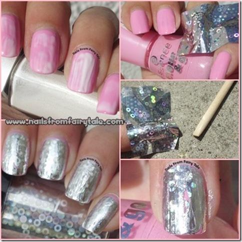 tutorial nail foil