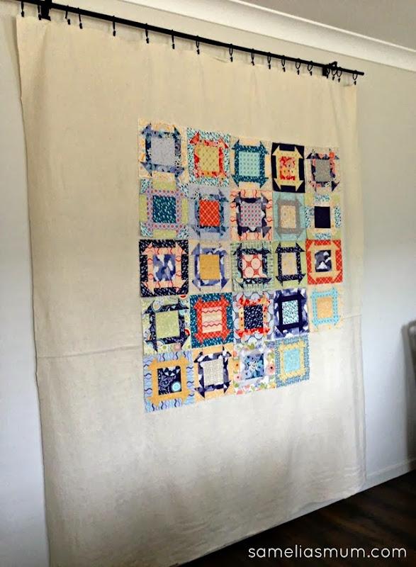 Samelia's Mum  My Sewing Room Design Wall