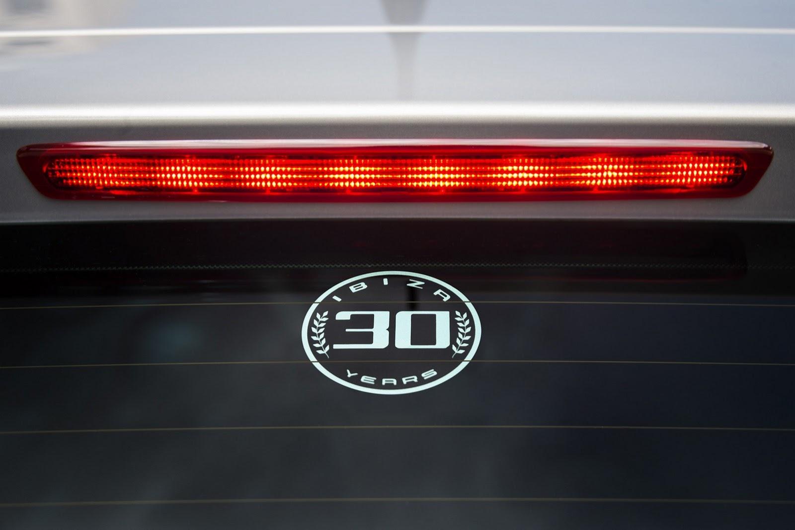 SEAT Ibiza 30 лет