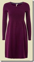 White Stuff Plum Knit Dress