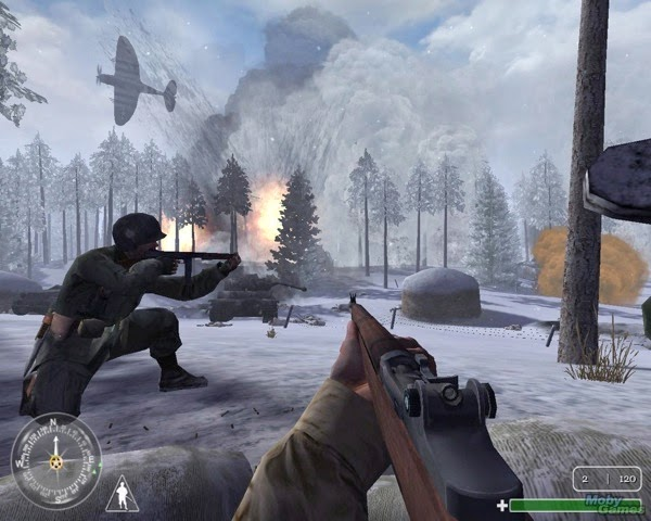 Schnee call of duty 2004