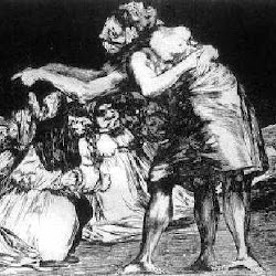 96 - Goya - Grabado de los Disparates (7)