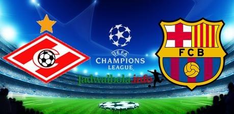 Spartak vs Barcelona Liga Champions