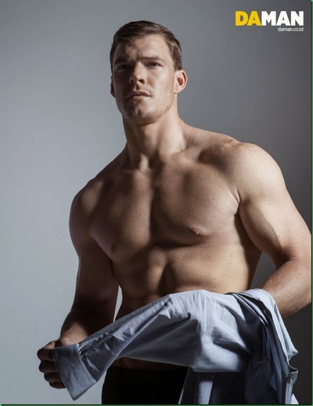 Alan Ritchson for Da Man – Cover and Cover Story