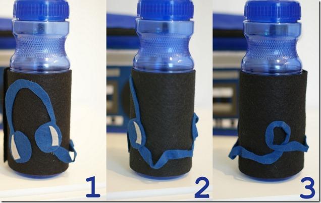 Water Bottle World Map