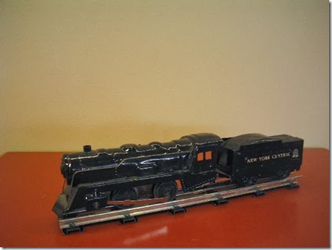 Marx #898 Locomotive with 6-inch Wedge Tender