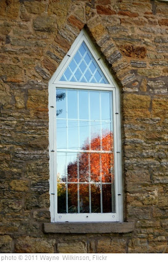 'Window St Peter's Episcopal church Grand Detour, Illinois' photo (c) 2011, Wayne  Wilkinson - license: http://creativecommons.org/licenses/by/2.0/