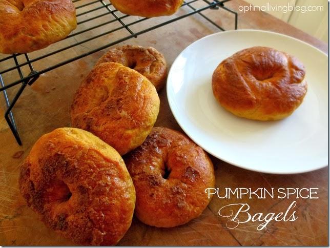pumpkin spice bagels 1