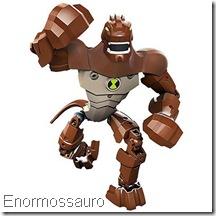 Lego Ben 10 enormossauro humongossauro Força Alienígena - Alien Force