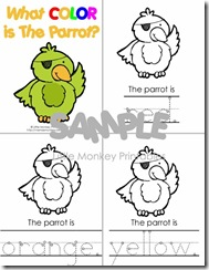 parrot color book 1