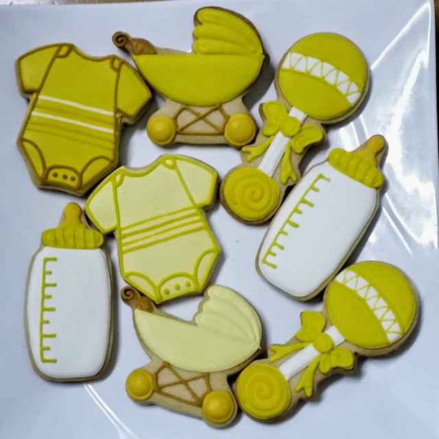 baby themed cookies for aqiqah