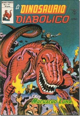 P00001 - Dinosaurio Diabolico v1 #