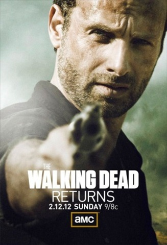 The Walking Dead Poster do retorno da 2 temporada