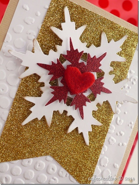 cafecreativo - big shot - Christmas card - Natale biglietto (2)