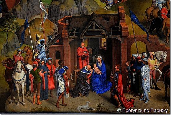Семь радостей Девы Марии. Мемлинг.