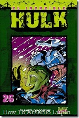 P00026 - Coleccionable Hulk #26 (de 50)