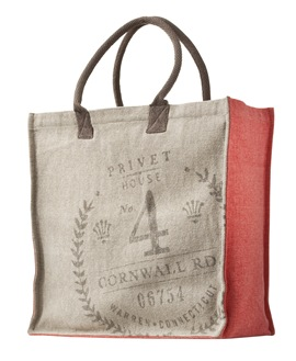 Privet House at Target Canvas Tote Bag in Coral
