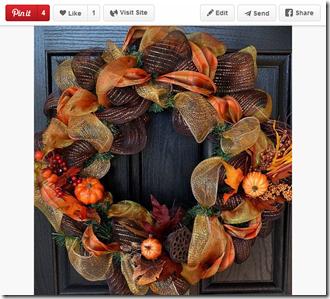 Pinterest Wreath