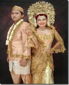 busana pengantin padang