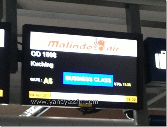 Kuching Sarawak Malindo Air 100