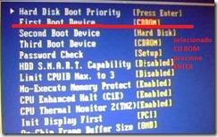 Imagem  configurar a bios gigabytes