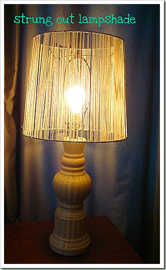 northern cottage diy string lampshade