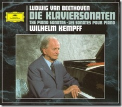 Beethoven sonatas piano Kempff