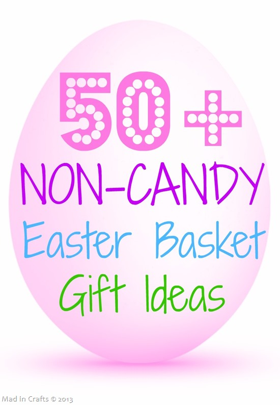 50  Non Candy Easter Basket Gift Ideas
