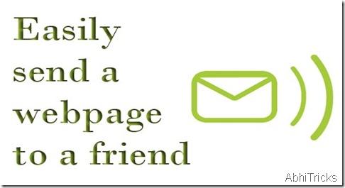 Send webpage