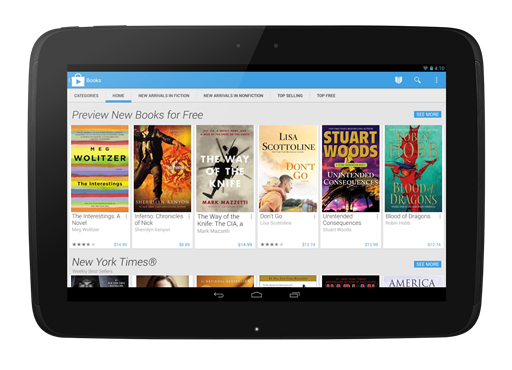 Google Play Store 4.0
