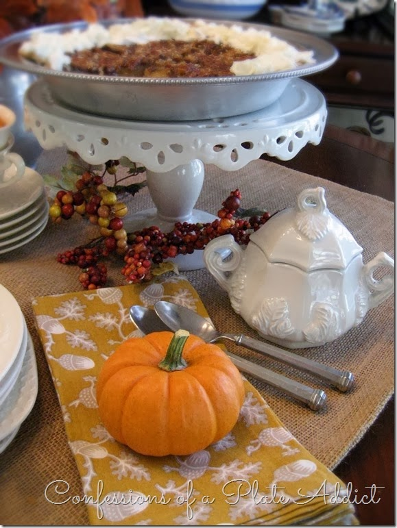 CONFESSIONS OF A PLATE ADDICT Creating a Fall Dessert Table