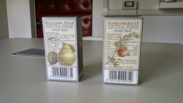 soap gift sets made in italy pomegranate