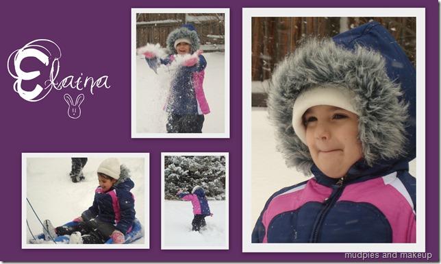 Elaina Snow Bunny