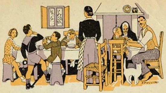 Cucina casa popolare epoca fascista (dis.)