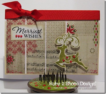 Merriest Wishes Reindeer HA