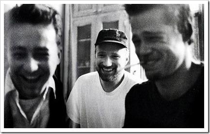 Edward Norton, Brad Pitt y David Fincher