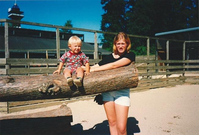 Daniel og Ann-Dorthe, sommeren 1995