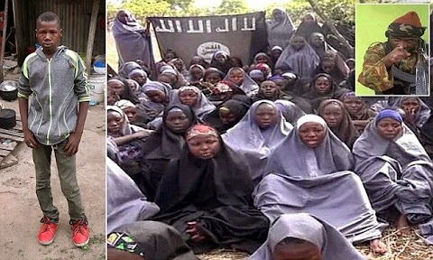 Must Read ! How 15 year old boy rescued two girls from Boko Haram
