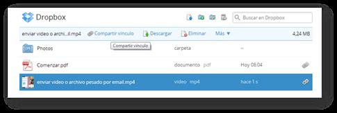 Enlace directo Dropbox