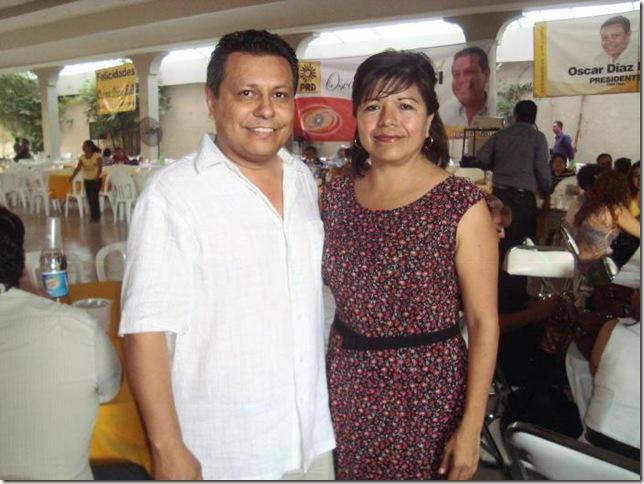 2.- Mirna y Oscar