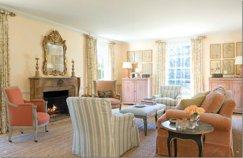 Warm Tones Matching Aqua For Living Room