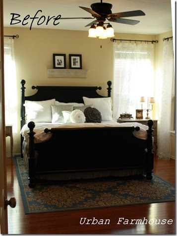 Urban Farmhouse Master Bedroom Makeover On A Budget