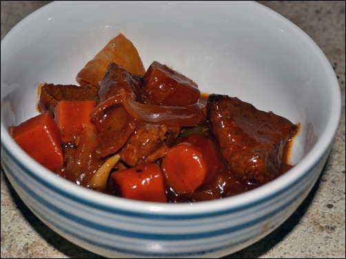 slow-cooker sweet and sour beef