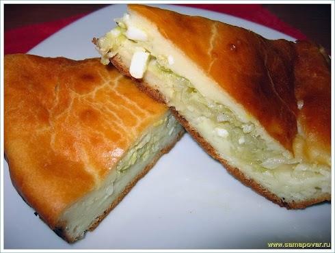 Пирог с капустой www.samapovar.ru